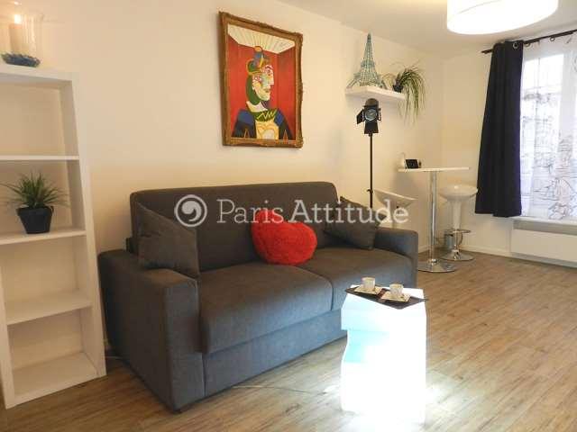 Louer Appartement meublé Studio 19m² rue de Clignancourt, 75018 Paris
