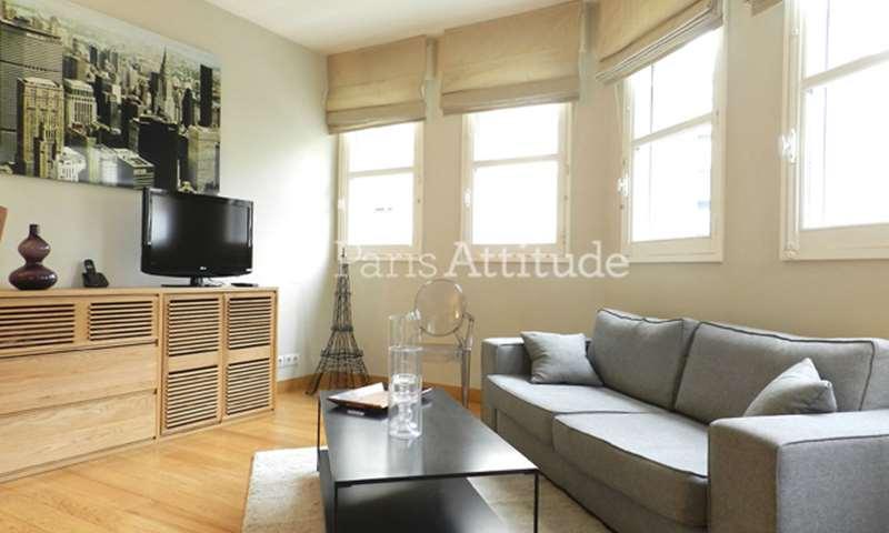 Aluguel Apartamento 1 quarto 48m² rue de Longchamp, 16 Paris