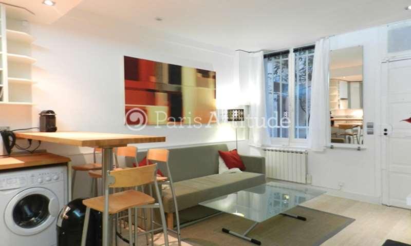 Rent Apartment 1 Bedroom 29m² rue des Deux Ponts, 75004 Paris