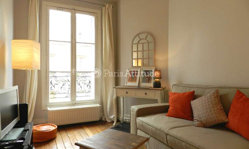 Rent Apartment 1 Bedroom 29m² rue Claude Pouillet, 17 Paris