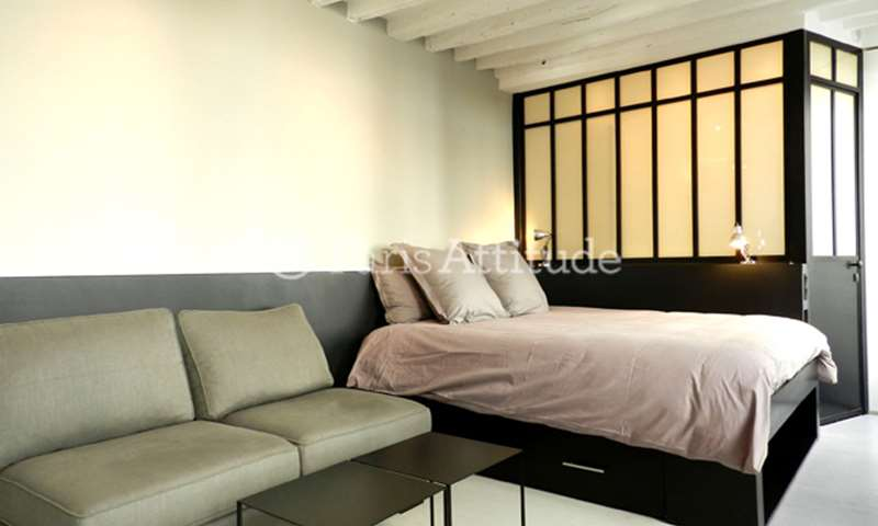 Rent Apartment Studio 19m² rue charles francois Dupuis, 75003 Paris
