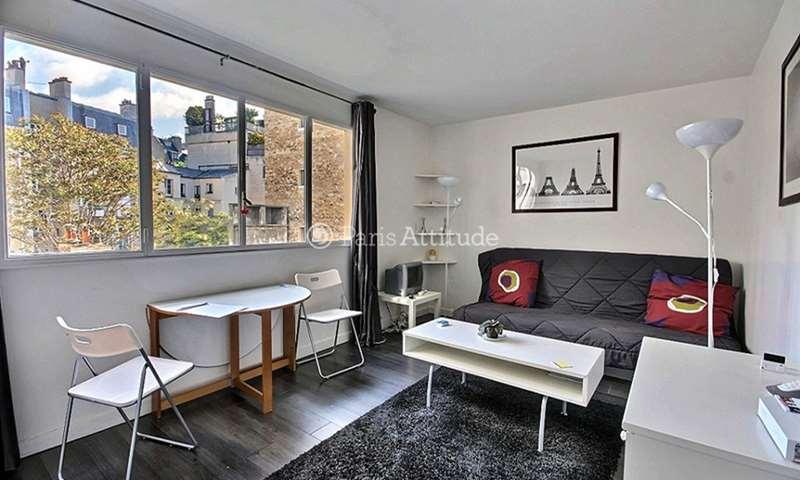 Rent Apartment Studio 24m² rue de l eglise, 92200 Neuilly sur Seine