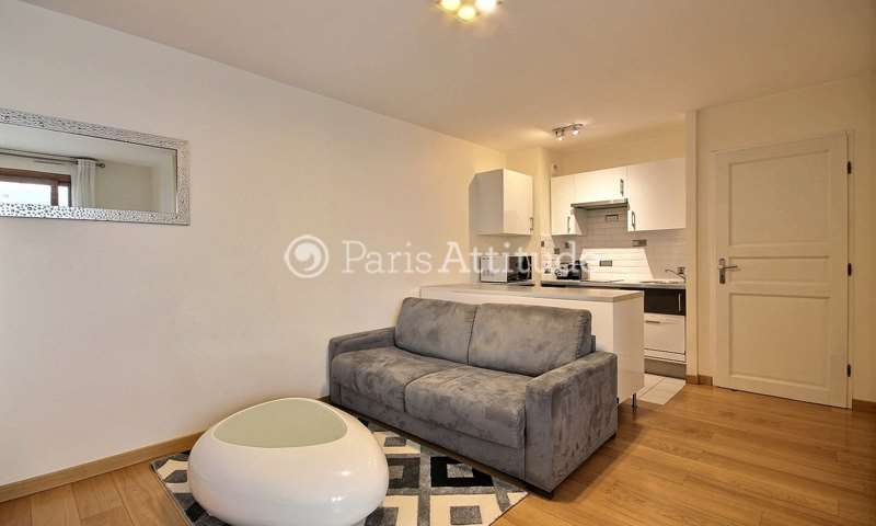 Rent Apartment 1 Bedroom 40m² rue Paul Vaillant Couturier, 92300 Levallois Perret