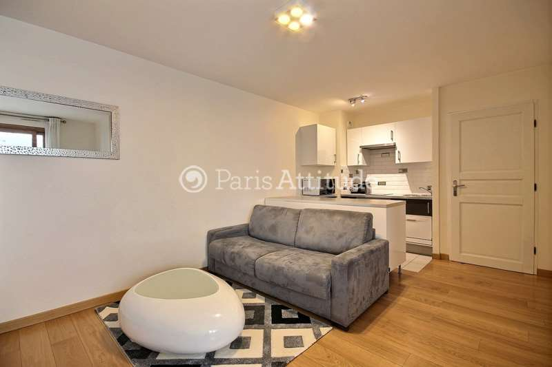 Rent furnished Apartment 1 Bedroom 40m² rue Paul Vaillant Couturier, 92300 Levallois Perret