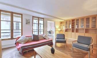 Rent Apartment 2 Bedrooms 85m² rue Bonaparte, 6 Paris