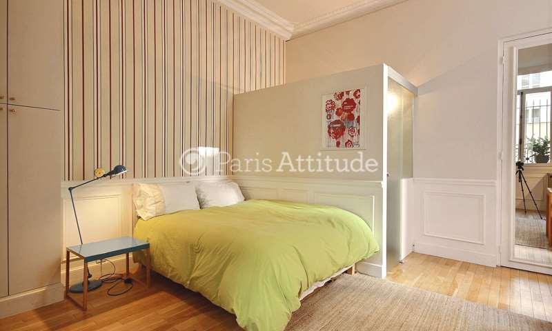 Location Appartement Studio 23m² Place Henri Bergson, 8 Paris
