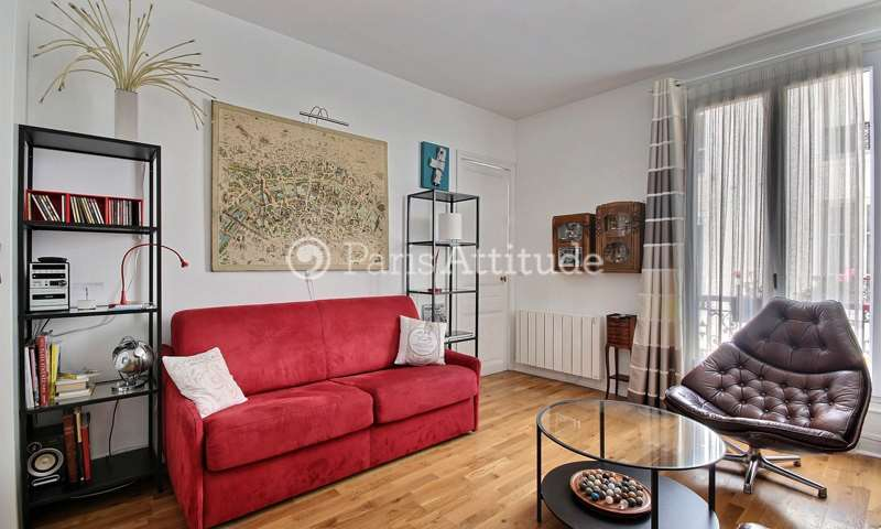 Rent Apartment 1 Bedroom 45m² avenue de Suffren, 75015 Paris