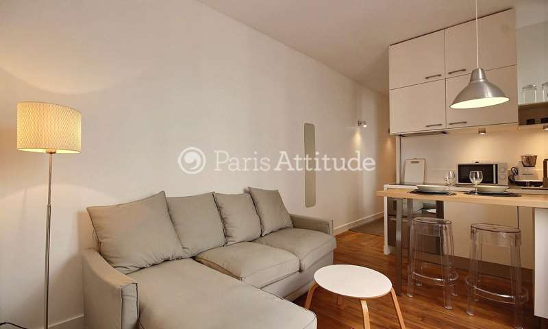 Rent Apartment 1 Bedroom 28m² rue Auguste Bartholdi, 15 Paris