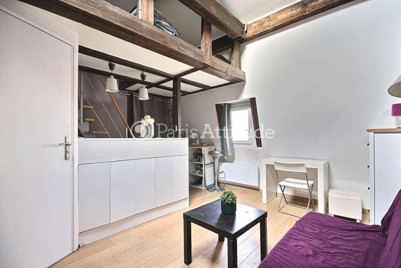 Louer Appartement meublé Studio 20m² rue du Faubourg Poissonniere, 75010 Paris