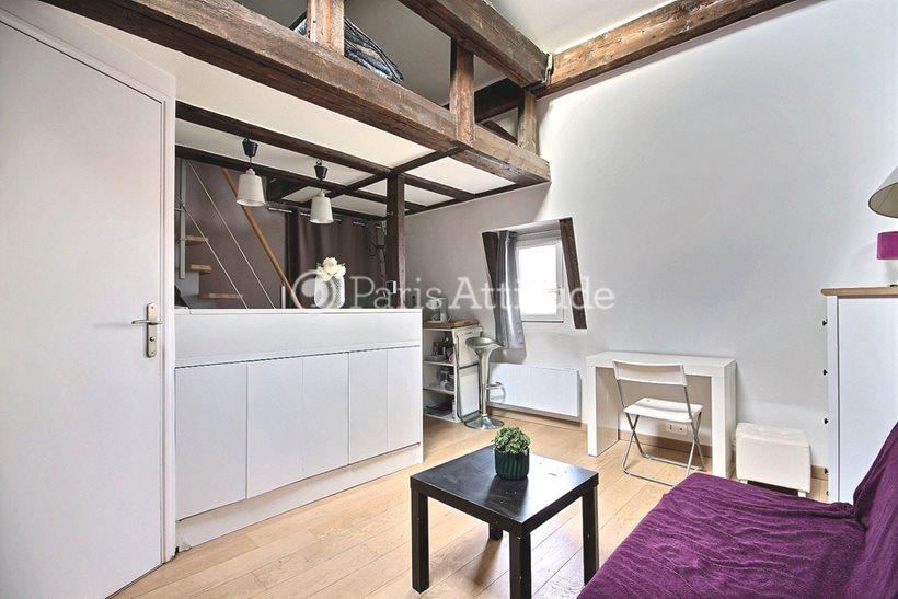 Rent furnished Apartment Studio 20m² rue du Faubourg Poissonniere, 75010 Paris