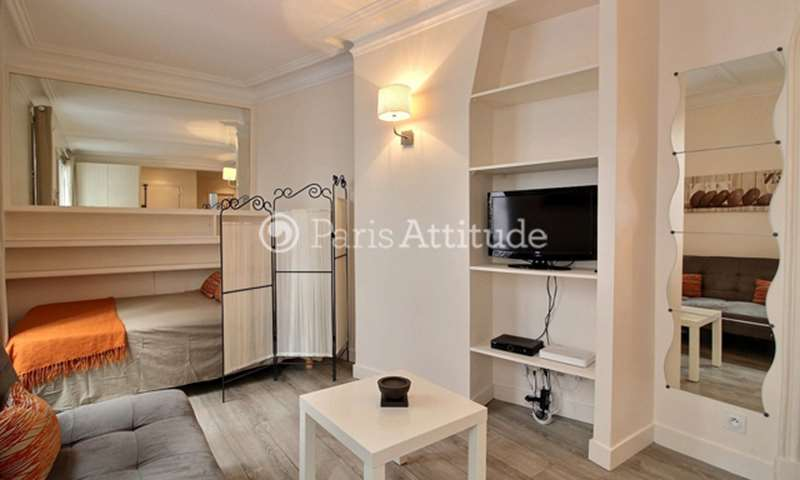 Rent Apartment Studio 22m² rue Vernier, 17 Paris