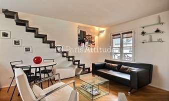 Rent Duplex 2 Bedrooms 46m² rue d Hauteville, 10 Paris