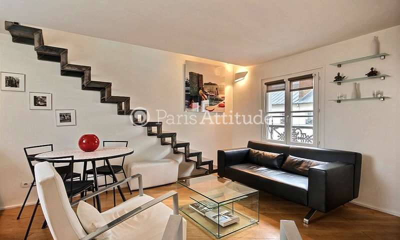Rent Duplex 2 Bedroom 46m² rue d Hauteville, 75010 Paris