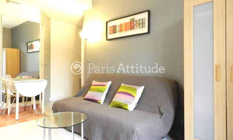 Location Appartement Studio 17m² rue du Clos Feuquieres, 15 Paris