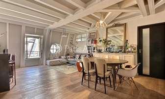 Rent Duplex 2 Bedrooms 86m² rue Tournefort, 5 Paris
