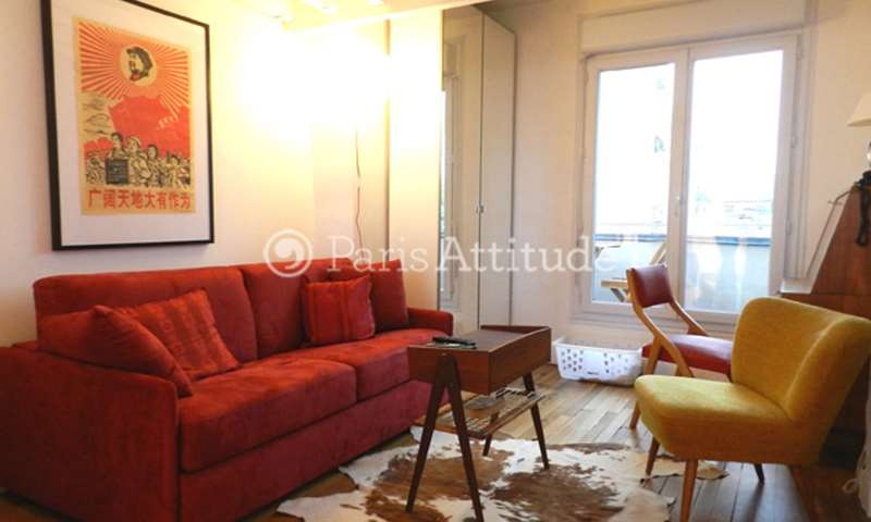 Location Appartement Alcove Studio 21m² rue Michal, 13 Paris