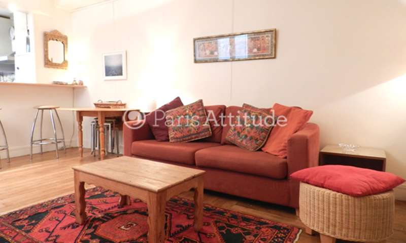 Rent Apartment 1 Bedroom 47m² rue de la Folie Mericourt, 75011 Paris