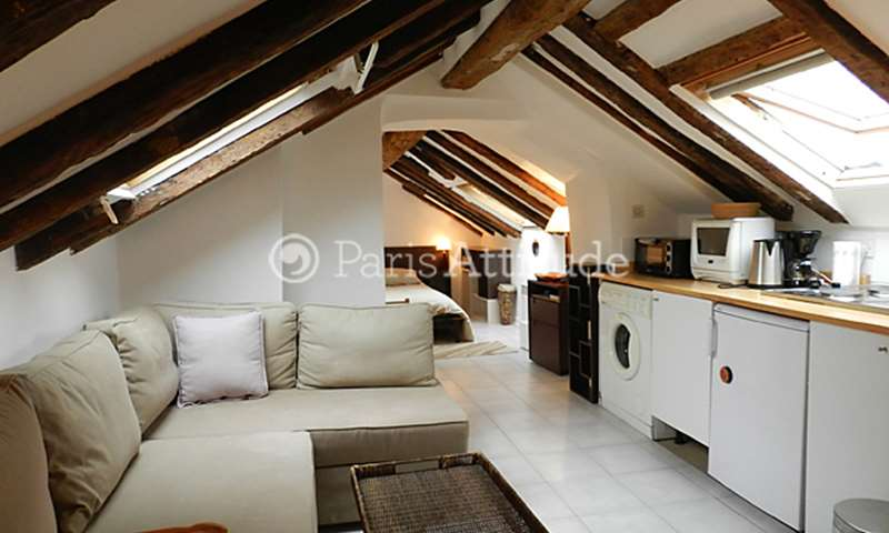 Rent Apartment Studio 20m² rue des Innocents, 75001 Paris