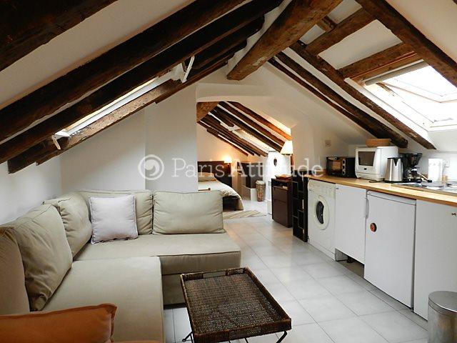 Aluguel Apartamento mobiliado Quitinete 20m² rue des Innocents, 75001 Paris