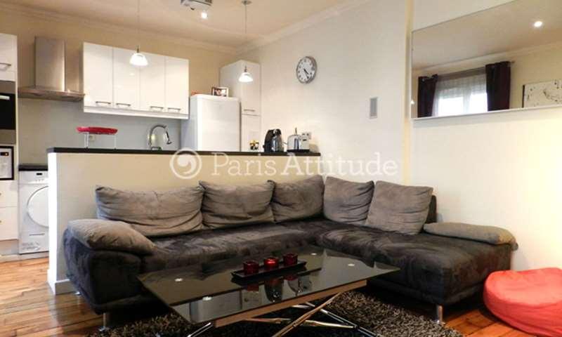 Rent Apartment 1 Bedroom 36m² rue des Belles Feuilles, 16 Paris