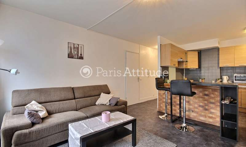 Rent Apartment 1 Bedroom 40m² rue Doudeauville, 18 Paris