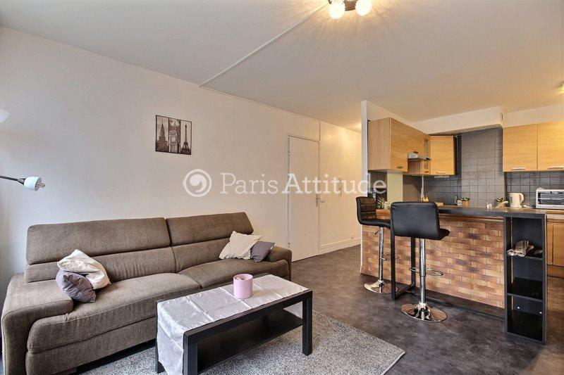 Louer Appartement meublé 1 Chambre 40m² rue Doudeauville, 75018 Paris