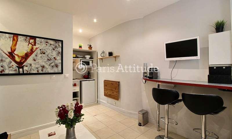 Location Appartement Studio 17m² rue Duvivier, 7 Paris