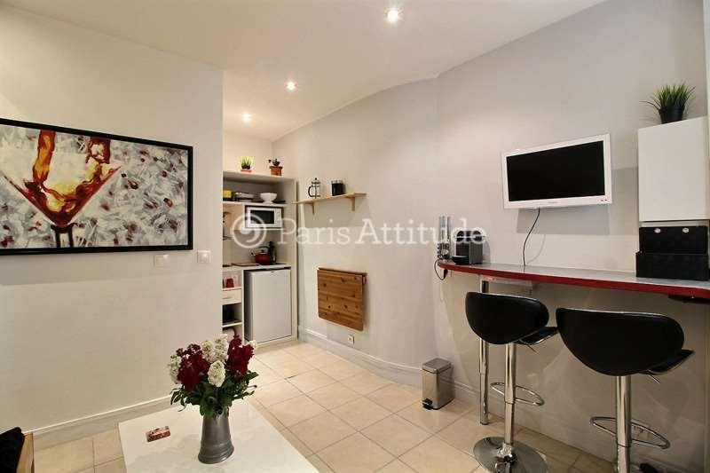 Aluguel Apartamento mobiliado Quitinete 17m² rue Duvivier, 75007 Paris
