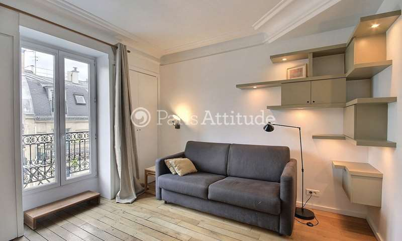 Rent Apartment Studio 20m² rue Lentonnet, 9 Paris