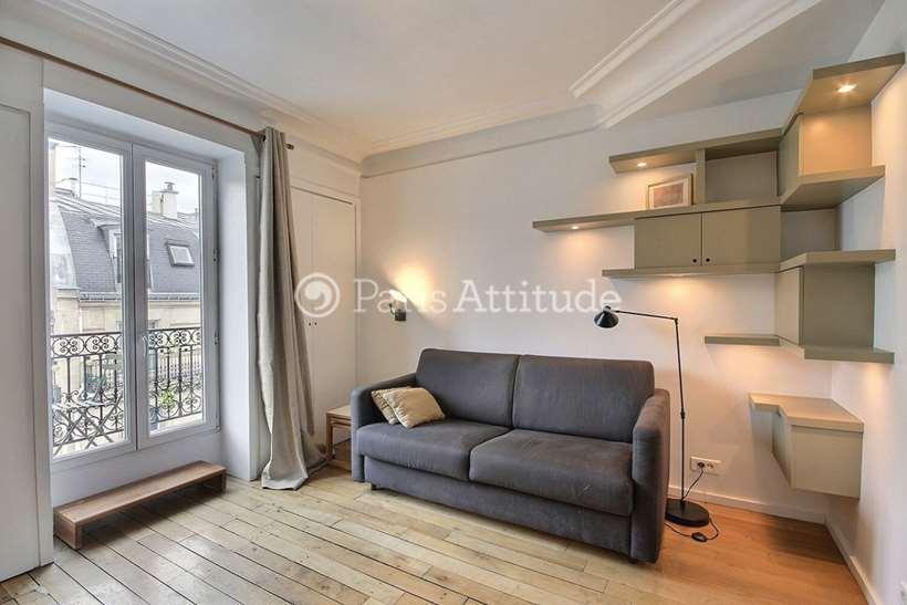 Aluguel Apartamento mobiliado Quitinete 20m² rue Lentonnet, 75009 Paris