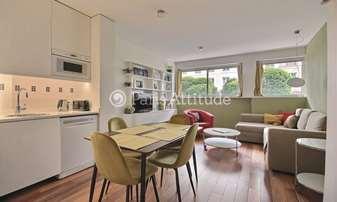 Rent Apartment 1 Bedroom 42m² rue Amelot, 11 Paris