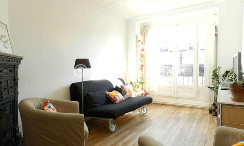 Rent Apartment 1 Bedroom 47m² rue Henri Dubouillon, 20 Paris