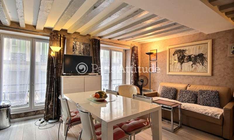 Rent Apartment 1 Bedroom 34m² rue Poissonniere, 2 Paris