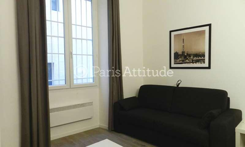 Rent Apartment Studio 20m² rue Poissonniere, 2 Paris