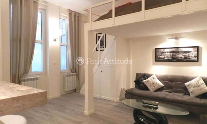 Rent Apartment Alcove Studio 30m² rue de Saussure, 17 Paris
