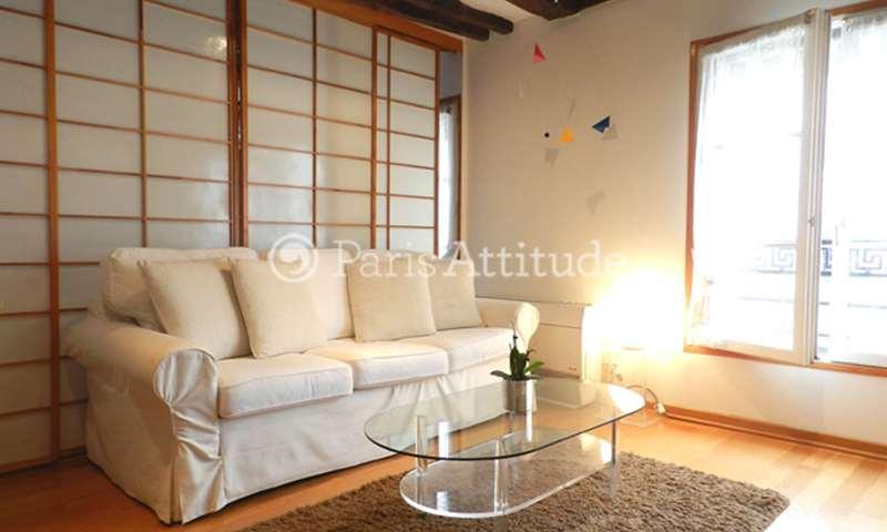 Rent Apartment Alcove Studio 31m² rue des Bourdonnais, 1 Paris