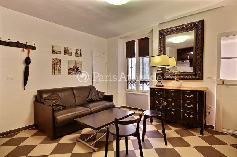 Rent furnished Apartment 1 Bedroom 25m² rue Malar, 75007 Paris