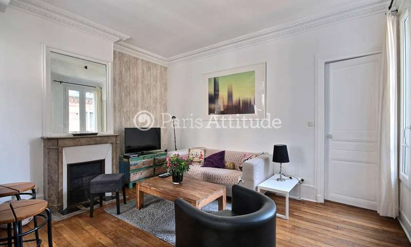 Rent Apartment 2 Bedrooms 55m² avenue emile Zola, 15 Paris