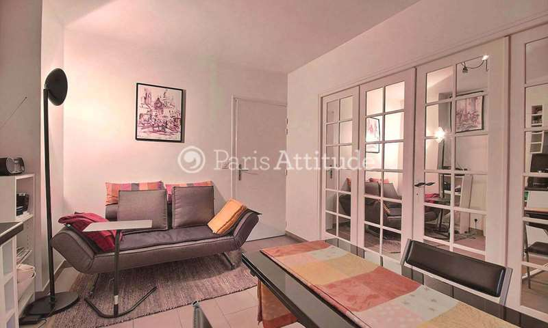 Rent Apartment 1 Bedroom 30m² rue Orfila, 75020 Paris
