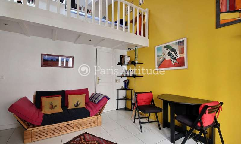 Rent Apartment Alcove Studio 35m² rue Charlot, 3 Paris
