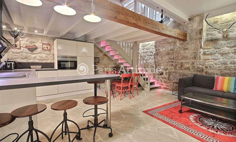 Location Appartement 1 Chambre 54m² rue Domat, 75005 Paris