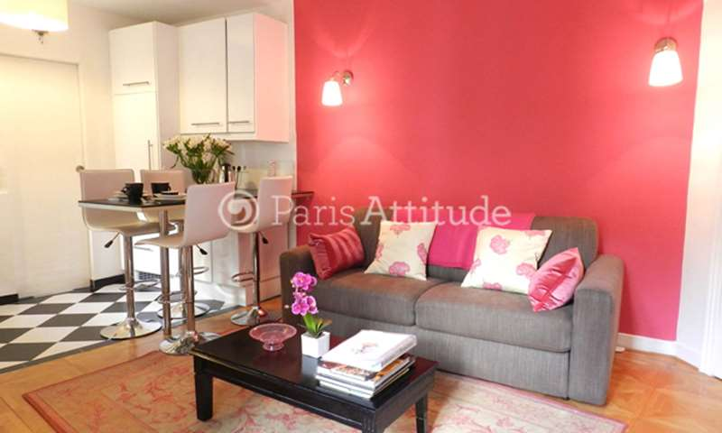 Rent Apartment 1 Bedroom 30m² rue Godot de Mauroy, 9 Paris