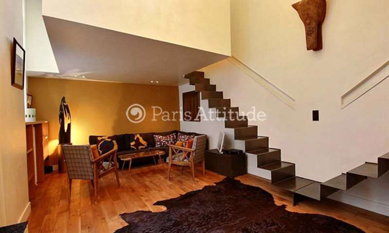 Rent Duplex 2 Bedroom 50m² rue de Saintonge, 75003 Paris