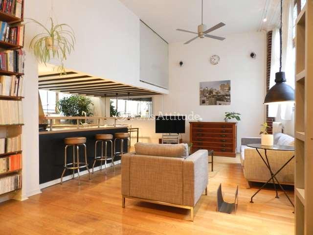 Louer Appartement meublé 2 Chambres 90m² rue des Petites ecuries, 75010 Paris