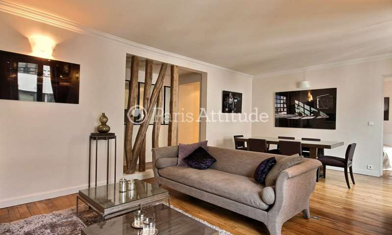 Rent Apartment 2 Bedrooms 73m² rue Greuze, 16 Paris