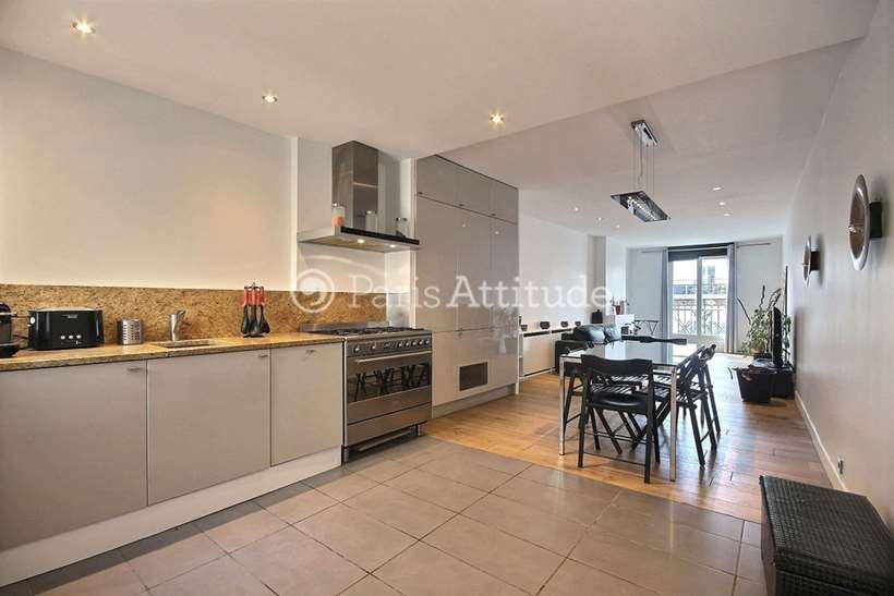 Rent furnished Apartment 1 Bedroom 60m² rue Pernelle, 75004 Paris