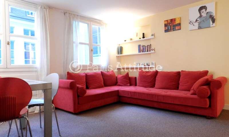 Location Appartement 2 Chambres 60m² rue Vieille du Temple, 75004 Paris