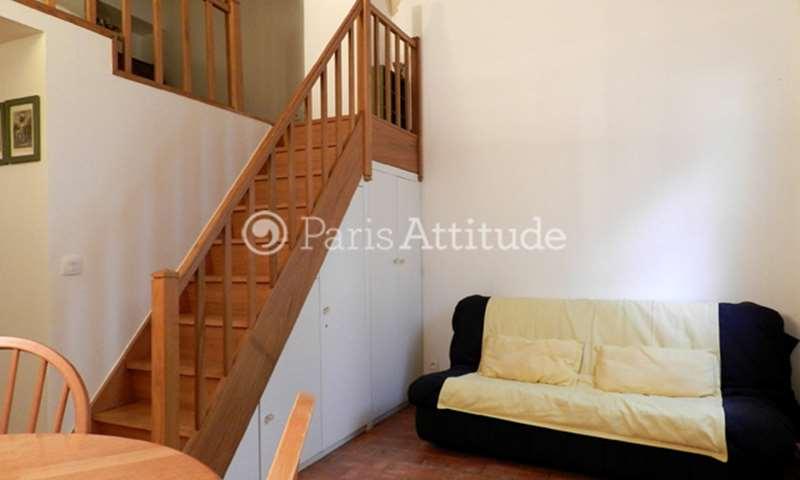 Rent Apartment Alcove Studio 24m² rue Serpente, 75006 Paris