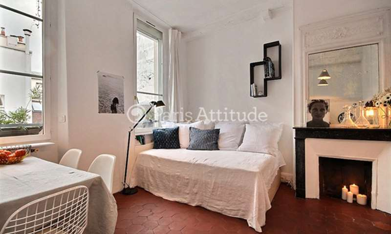 Rent Apartment Studio 22m² rue des Francs Bourgeois, 4 Paris
