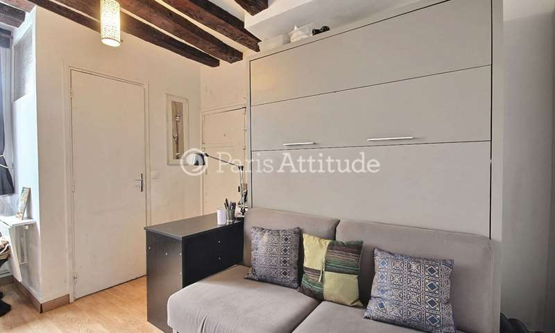 Rent Apartment Studio 15m² rue de Turenne, 75003 Paris